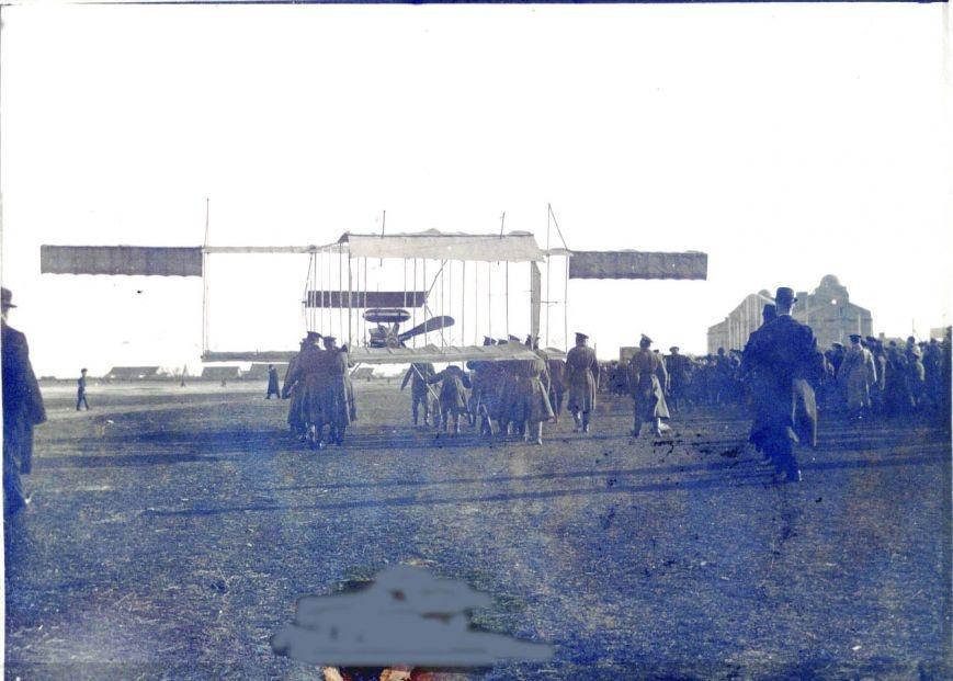 Первый самолет в Ейске