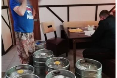 Ейские полицейские изъяли из незаконного оборота 300 литров пива