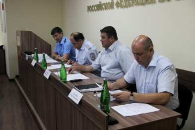 Сегодня в Отделе МВД России по Ейскому району прошло подведение итогов оперативно-служебной деятельности за первое полугодие 2019 года