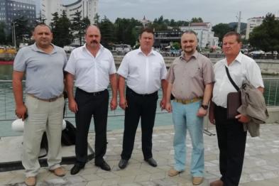 Руководитель муниципалитета Юрий Келембет возглавил делегацию Ейского района на учебно-методическом сборе
