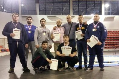 Ейские борцы завоевали путевку на чемпионат России