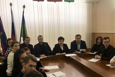 Сегодня состоялось заседание «Молодежной школы правовой и политической культуры»