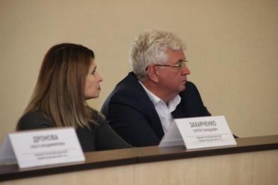 Исполняющий обязанности главы Ейского района Виктор Ляхов встретился с депутатами городского Совета