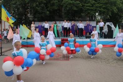 Всекубанский флешмоб открыл в Ейском районе череду праздничных мероприятий, посвященных Дню России