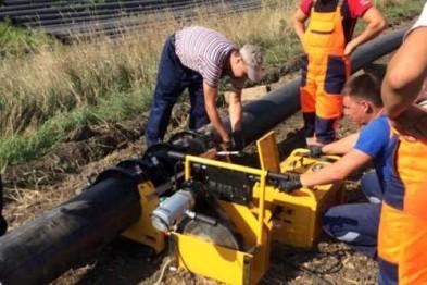 Ведутся подготовительные работы к капитальному ремонту магистрального водопровода В-II-2, протяженностью 1152 м