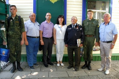 Сегодня ветеран Великой Отечественной войны Михаил Федорович Тимошенский отмечает 93-й день рождения