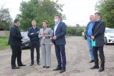 Руководитель муниципалитета Виктор Ляхов с рабочим визитом посетил хутор Рассвет