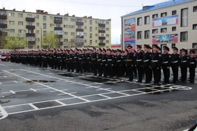 В День открытых дверей гостями Ейского казачьего кадетского корпуса стали более 500 человек