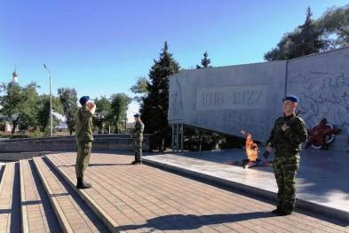 Молодежь Ейского района несет почетную Вахту Памяти