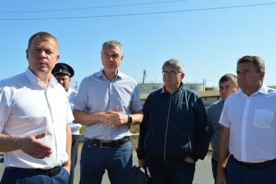 Сегодня Ейск посетил министр транспорта и дорожного хозяйства Краснодарского края Алексей Переверзев