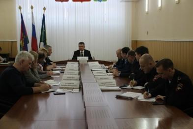 Состоялось заседание межведомственного штаба в связи с введением режима функционирования «Повышенная готовность»