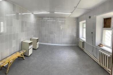 В с. Александровка Ейского района завершен косметический ремонт стоматологического кабинета