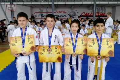 Ейчане стали призёрами Рождественского турнира по киокушинкай карате