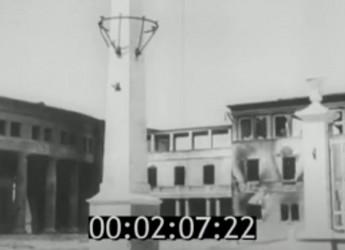 Видеохроника: немецко-фашистские войска в 1942 году входят Ейск