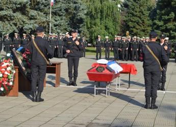 В Ейске простились с погибшим в Турции экипажем Бе-200