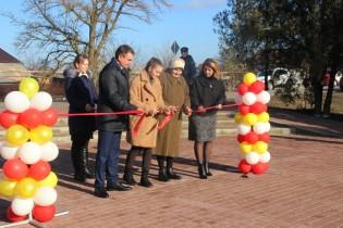 В селе Александровке в торжественной обстановке прошло официальное открытие «Парка Победы»