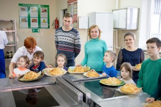 Ейский полипрофильный колледж: мастер-класс «Курник по старорусскому рецепту»