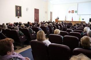 Прошло совещание с руководителями ТОС, действующими на территории Ейского района