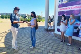 30 золотых знаков ГТО вручены выпускникам общеобразовательных школ Ейского района