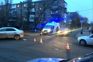 В Ейске в результате ДТП пострадала пассажир автомобиля