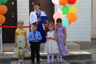 Детский сад №21 села Александровки радушно распахнул свои двери после капитального ремонта