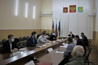 Обеспечение безопасности дорожного движения по итогам 10 месяцев обсудили в администрации Ейского района