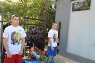 В Ейске открыли мемориальную доску заслуженному работнику физической культуры и спорта Кубани Владимиру Петровичу Ейкину