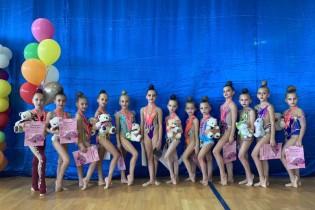 Успешный старт юных гимнасток СШ «Рассвет» в новом соревновательном сезоне