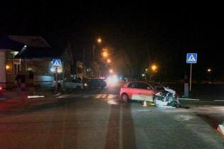 В Ейске водитель совершил ДТП не пропустив автомобиль по главной дороге