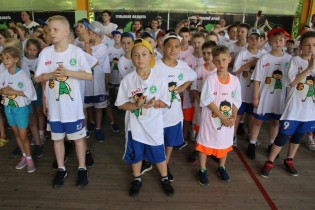В Ейске в третий раз стартовал Всероссийский фестиваль «Мини-баскетбол РФБ»