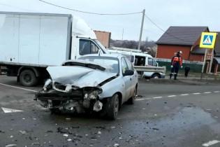 В Ейске водитель нарушил правила проезда перекрестка
