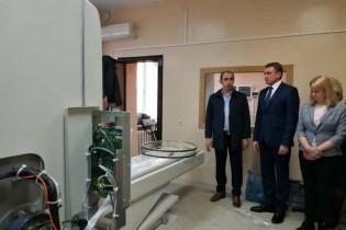В ЕЦРБ ведется установка высокотехнологического медоборудования