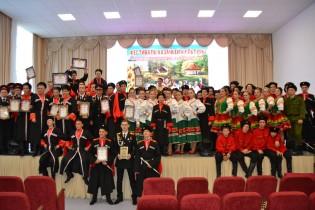 Ейские кадеты – победители VI краевого фестиваля казачьей культуры