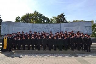 Торжественное обещание ейских кадетов