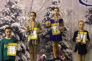 Юные фигуристы Ейского района стали победителями и призерами соревнований