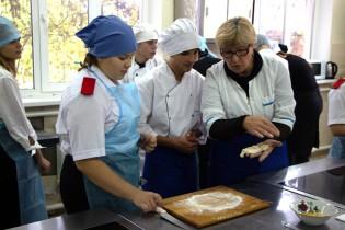 Ейский полипрофильный колледж: кулинарный мастер-класс «Осенние фантазии»