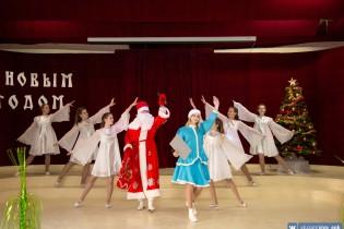 Ейский полипрофильный колледж: новогодний переполох!