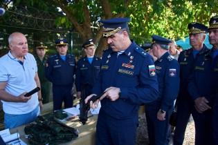 Ейск посетил заместитель Министра обороны РФ генерал-лейтенант Юнус-Бек Евкуров
